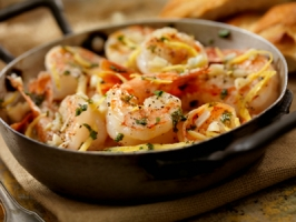 Shrimp and Garlic Butter Photo