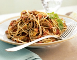 Angel Hair with Rockin' Red Clam Sauce Photo