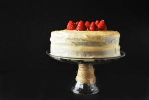 Strawberry Lemonade Cake Photo