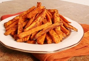 Parmesan Pepper Sweet Potato Fries Photo