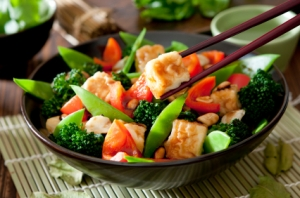 Stir Fry with Tofu Photo