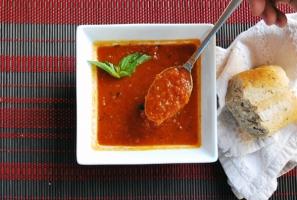 Roasted Tomato Basil Soup Photo