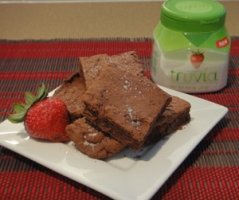 Reduced Sugar Fudgy Brownies with Truvia Photo