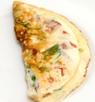 Egg White Veggie Omelet  Photo