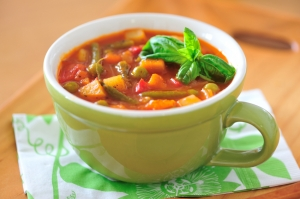 7 Minute Vegetable Soup Photo
