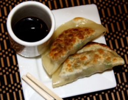 Veggie Potstickers Photo