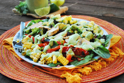 Try This Recipe: Loaded Southwestern Tossed Salad