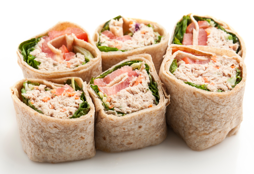 Try This Recipe: Tuna Salad Wraps