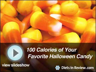 View 100 Calories of Your Favorite Halloween Candy Slideshow