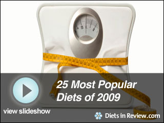 View 25 Most Popular Diets of 2009 Slideshow