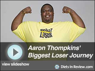 View Aaron Thompkins' Biggest Loser 10 Journey  Slideshow