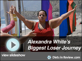 View Alexandra White's Biggest Loser Journey Slideshow