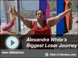 View Alexandra White's Biggest Loser Journey Slideshow