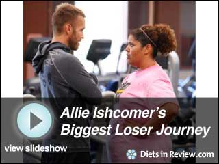View Allie Ishcomer's Biggest Loser 10 Journey Slideshow