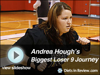 View Andrea Hough's Biggest Loser 9 Journey Slideshow