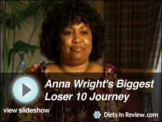View Anna Wright's Biggest Loser 10 Journey Slideshow