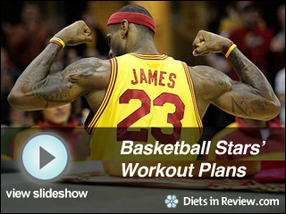 View Basketball Stars' Workout Plans Slideshow