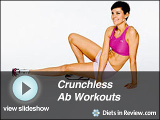 View Crunchless Ab Workouts Slideshow