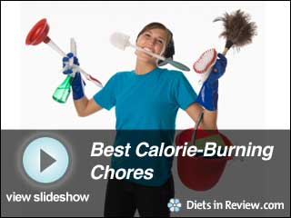View Best Calorie Burning Chores Slideshow