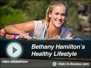 View Bethany Hamilton's Healthy Lifestyle Slideshow
