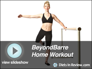 View BeyondBarre Home Workout Slideshow