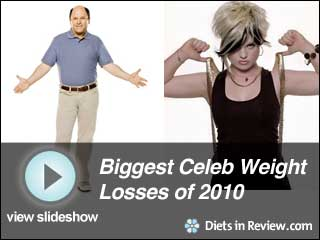 View Biggest Celeb Weight Losses of 2010 Slideshow