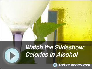 View Calories in Alcohol Slideshow