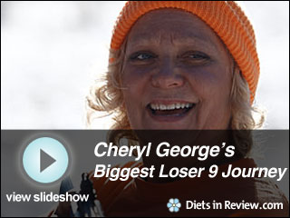 View Cheryl George's Biggest Loser 9 Journey Slideshow