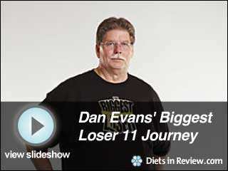 View Dan Evans' Biggest Loser 11 Journey Slideshow