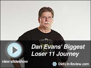 View Dan Evans' Biggest Loser 11 Journey Slideshow