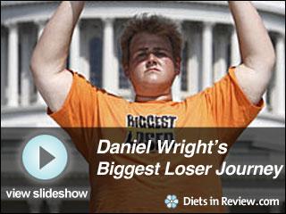 View Daniel Wright's Biggest Loser Journey Slideshow
