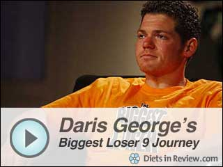 View Daris George Biggest Loser 9 Journey Slideshow