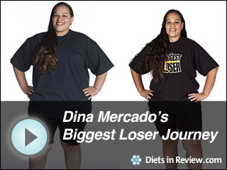 View Dina Mercado's Biggest Loser Journey Slideshow