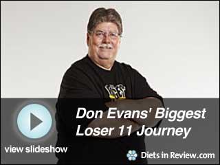 View Don Evans' Biggest Loser 11 Journey Slideshow