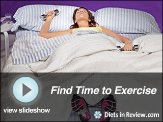 View Find Time to Exercise Slideshow
