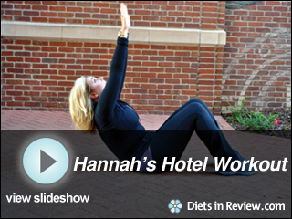 View Hannah Curlee's Hotel Workout Slideshow
