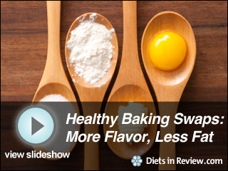 View Healthy Baking Swaps Slideshow