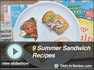 View Healthy Summer Sandwiches Slideshow