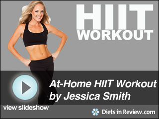 View HIIT At-Home Workout Slideshow