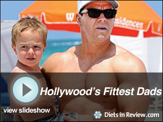 View Hollywood's Fittest Dads Slideshow