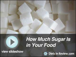View How Much Sugar is in Your Food Slideshow