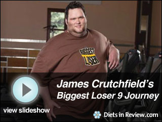 View James Crutchfield's Biggest Loser 9 Journey Slideshow