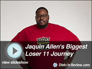 View Jaquin Allen's Biggest Loser 11 Journey Slideshow