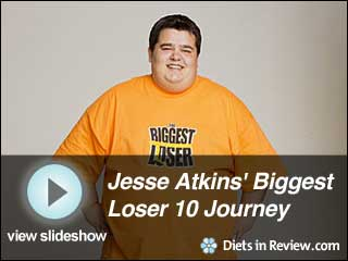 View Jesse Atkins' Biggest Loser 10 Journey  Slideshow