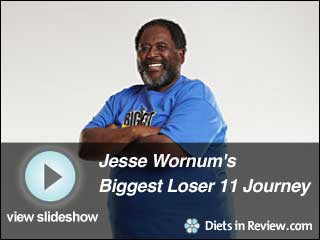 View Jesse Wornum's Biggest Loser 11 Journey Slideshow