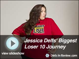View Jessica Delfs' Biggest Loser 10 Journey Slideshow