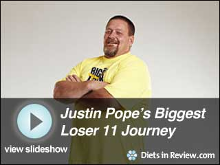 View Justin Pope's Biggest Loser 11 Journey Slideshow