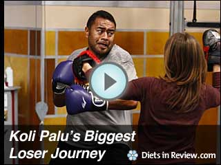 View Koli Palu's Biggest Loser 9 Journey Slideshow