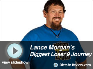 View Lance Morgan's Biggest Loser 9 Journey Slideshow