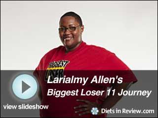 View Larialmy Allen's Biggest Loser 11 Journey Slideshow
